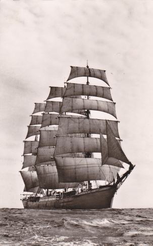German sail training ship Pamir