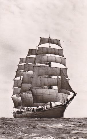 German sail training ship Pamir